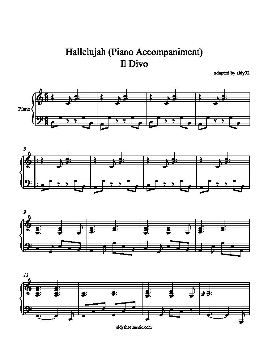 Alexandra Burke - Hallelujah Lyrics | MetroLyrics